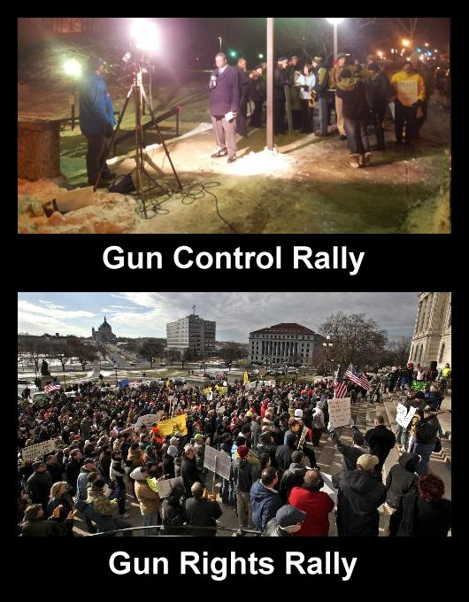 Funny Gun Control Signs At the �gun control rally�