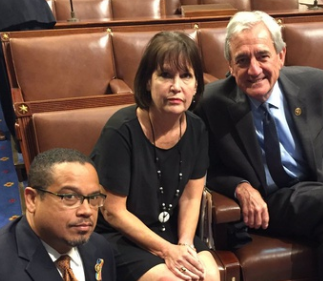 Banana Republicans (from L): Keith Ellison, Betty McCollum, and Rick Nolan.